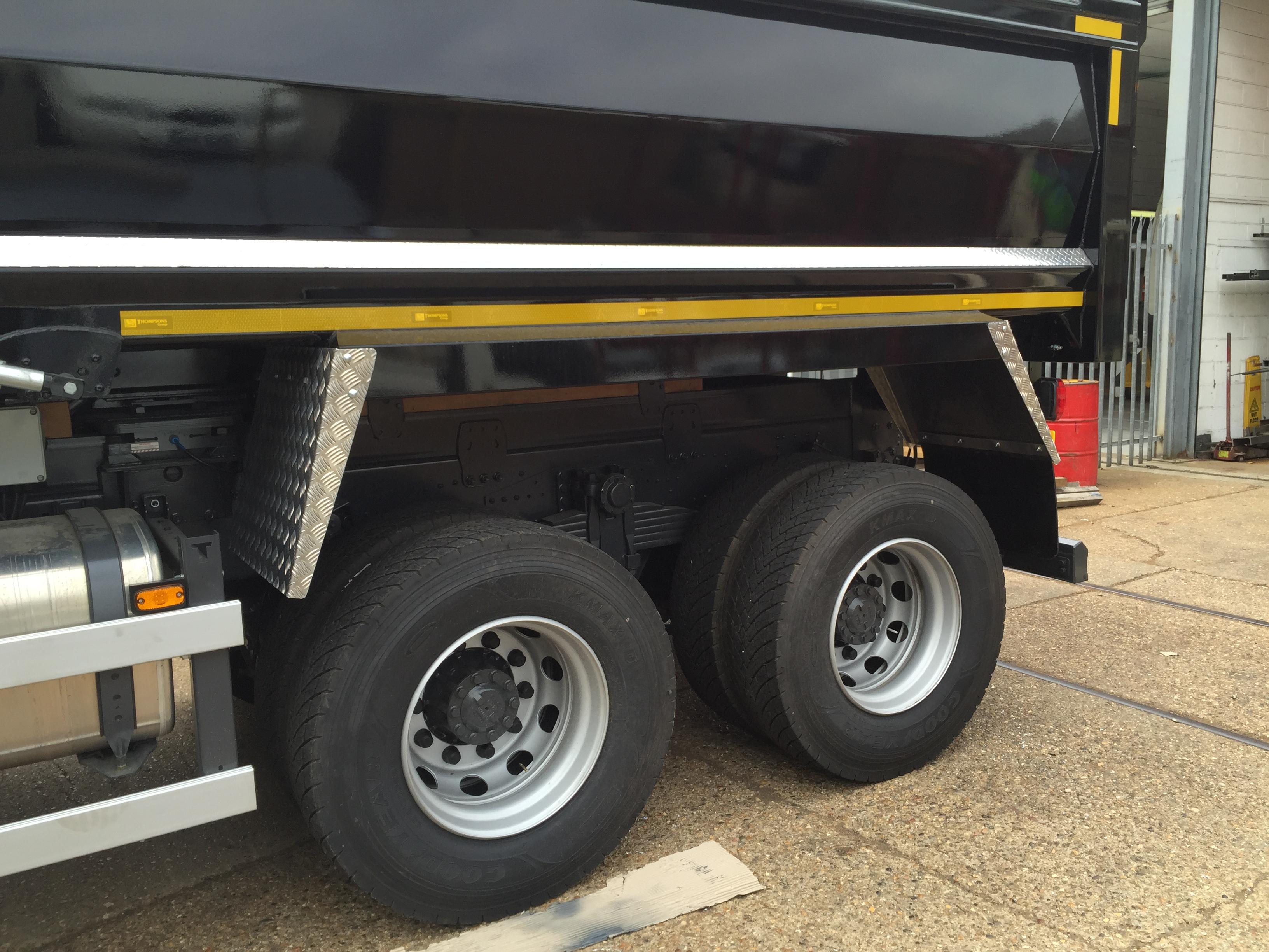 Tipper wings Scania/DAF