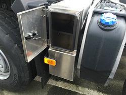 Renault locker box