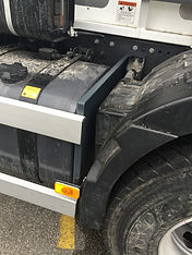 Renault Volumectric and tipper cycle guards