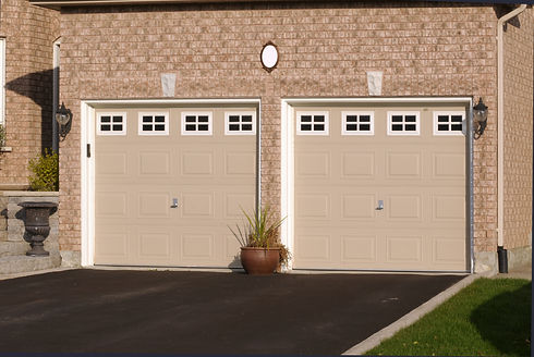 Double Garage in a brick house.jpg