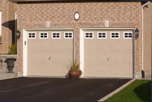 Double Garage in a brick house.jpg