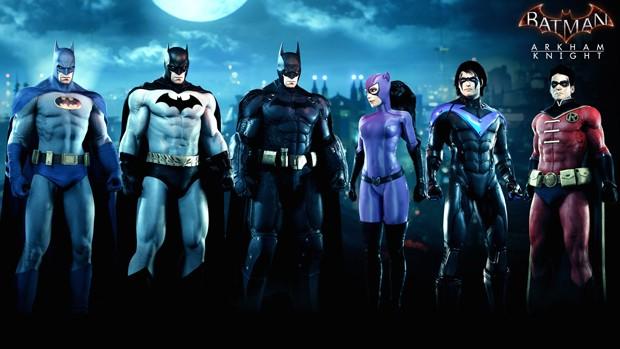 'Batman: Arkham Knight' ganha traje e batmóvel do filme de Tim Burton