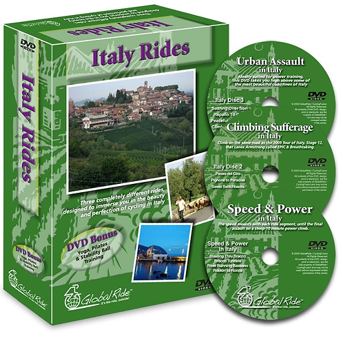 Italy Rides 3 DVD Box Set