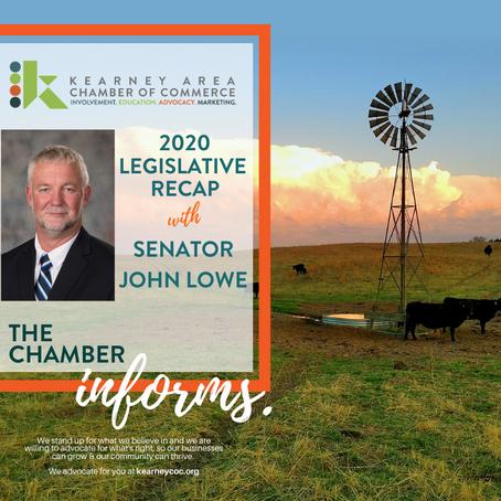 Senator John Lowe: 2020 Legislative Recap