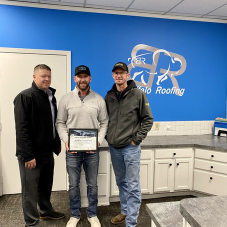 COLONELS DOING BUSINESS AWARD: BUFFALO ROOFING