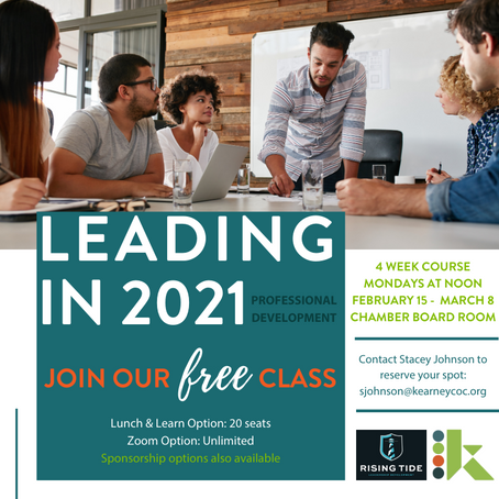 PROFESSIONAL DEVELOPMENT: LEADING IN 2021