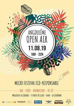 OPEN AIR La Couronne le 11 août 2019