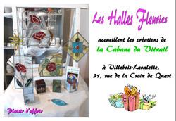 Halles fleuries Villebois Lavalette