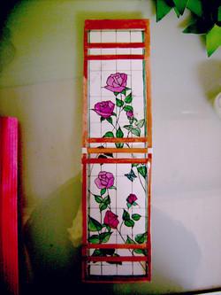 """Maquette """"les roses"""""""