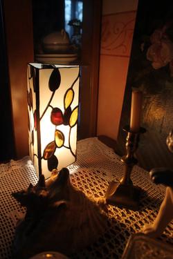 """lampe """"feuilles d'automne"""""""
