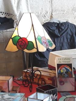 lampe aux roses