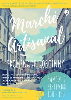 Affiche marché Goscinny