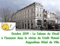 Octobre 2019 : Credit mutuel