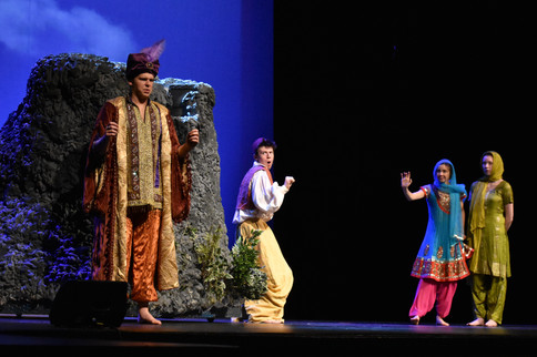 CHS Theatre & Film, Aladdin and the Wonderful Lamp, Austin Audia (center)