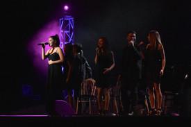 CHS Choirs, Edges, Sydney Greene (left)