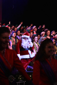 CHS Choirs, Holiday Spectacular, Jim Martin (center)