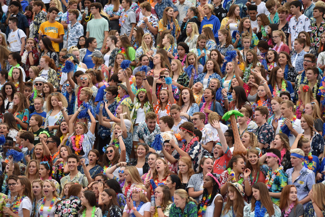 CHS Football Student Section