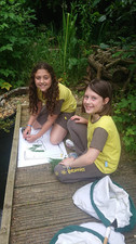 Brownies at the Environmental Centre