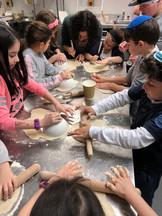 Cheder matzah baking 2019