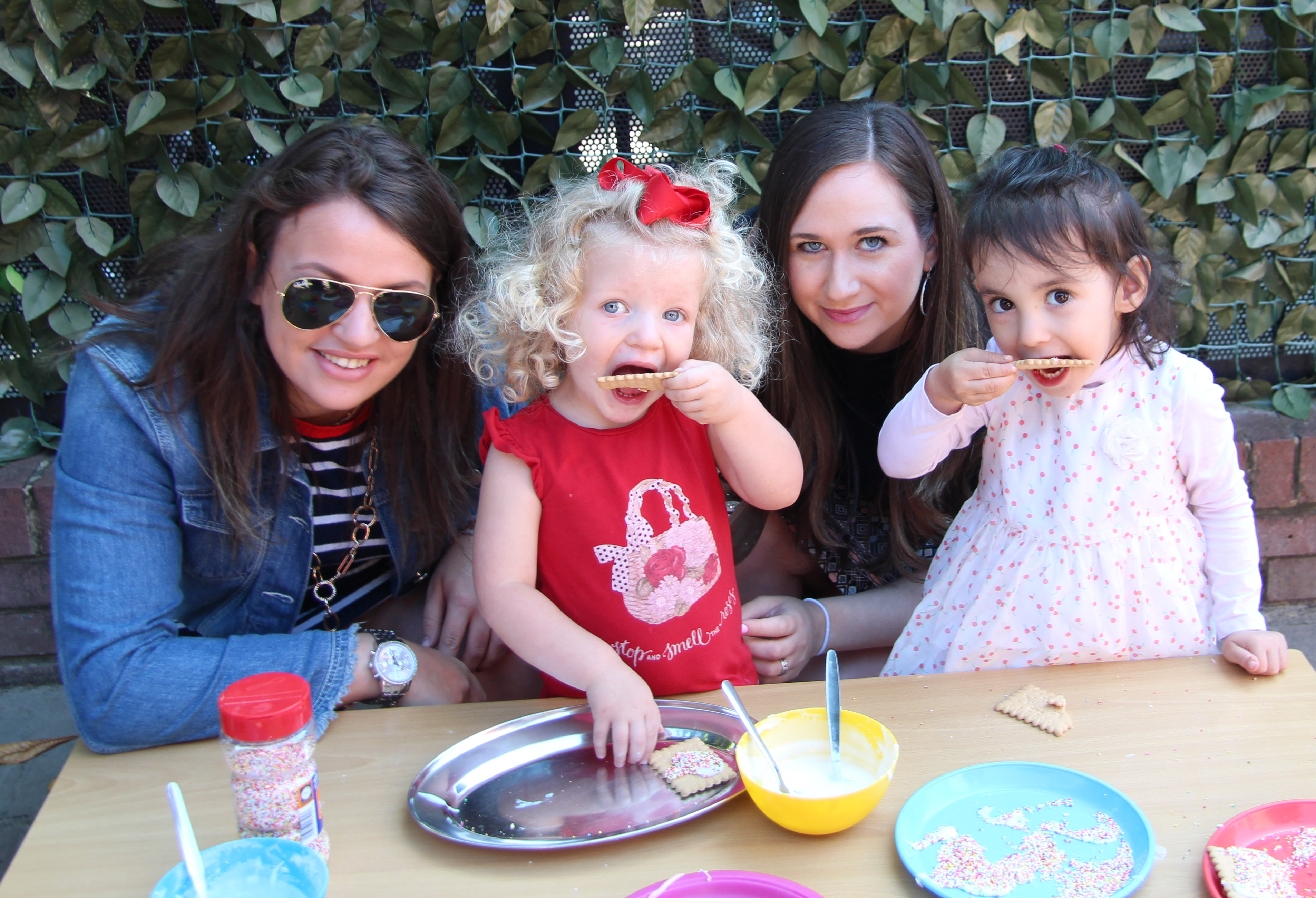 17 Yavneh Garden Party 2019 making and e