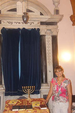 Ark with the Shul Administrator