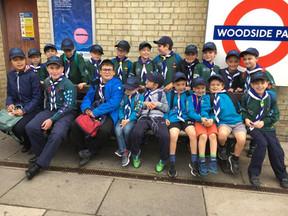 Cubs Visit London Transport Museum