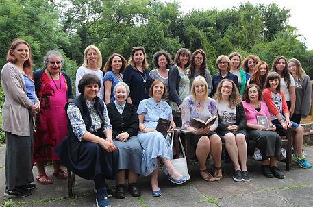 Ladies Megillat Ruth Readers and Ladies