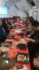 Youth Sushi Making