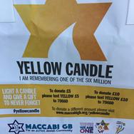Bag of yellow candle