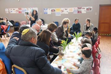 Yavneh Grandparents Mock Seder 2019_2414