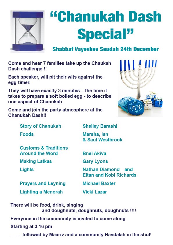 Chanukah Dash Special