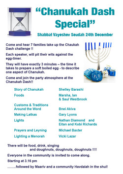 Chanukah Dash Special