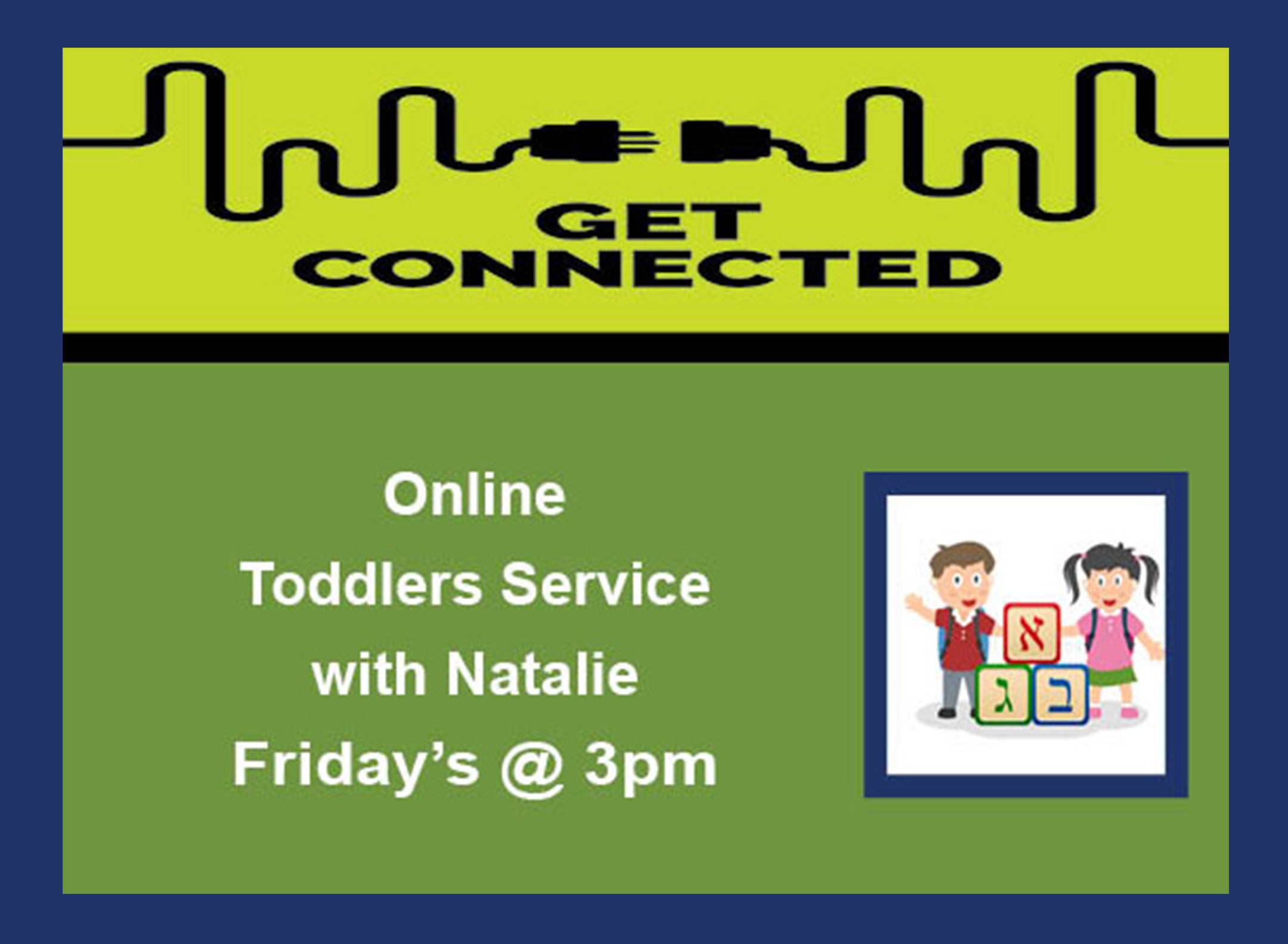 08 Toddlers Service Fridays 3pm