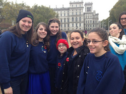Guides at AJEX