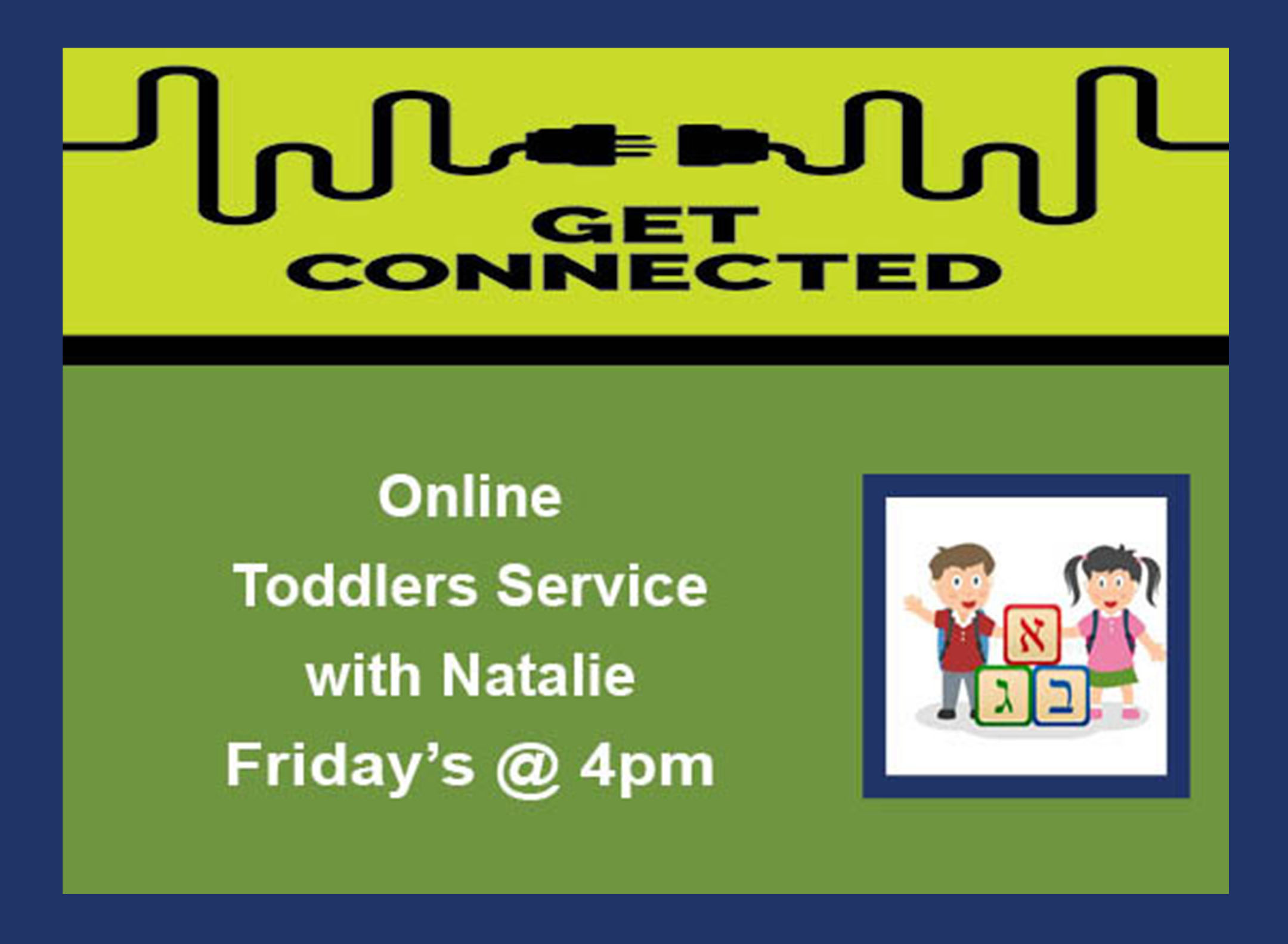 07 Toddlers Service Fridays 4pm
