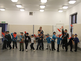 Beavers Taking Their Aeroplane Badge