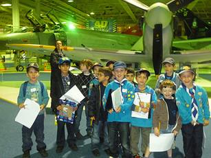 Beavers Visit the RAF Museum Hendon
