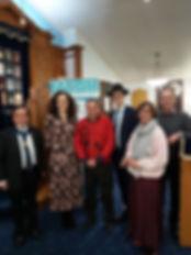 interfaith chanukah event at WPS Dec 201