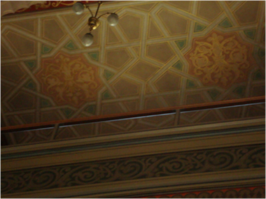 Shul Ceiling