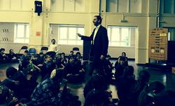 Visit to Wolfson Hillel School