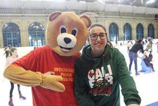 31 Zara Passe and teh Woodside Park Bear
