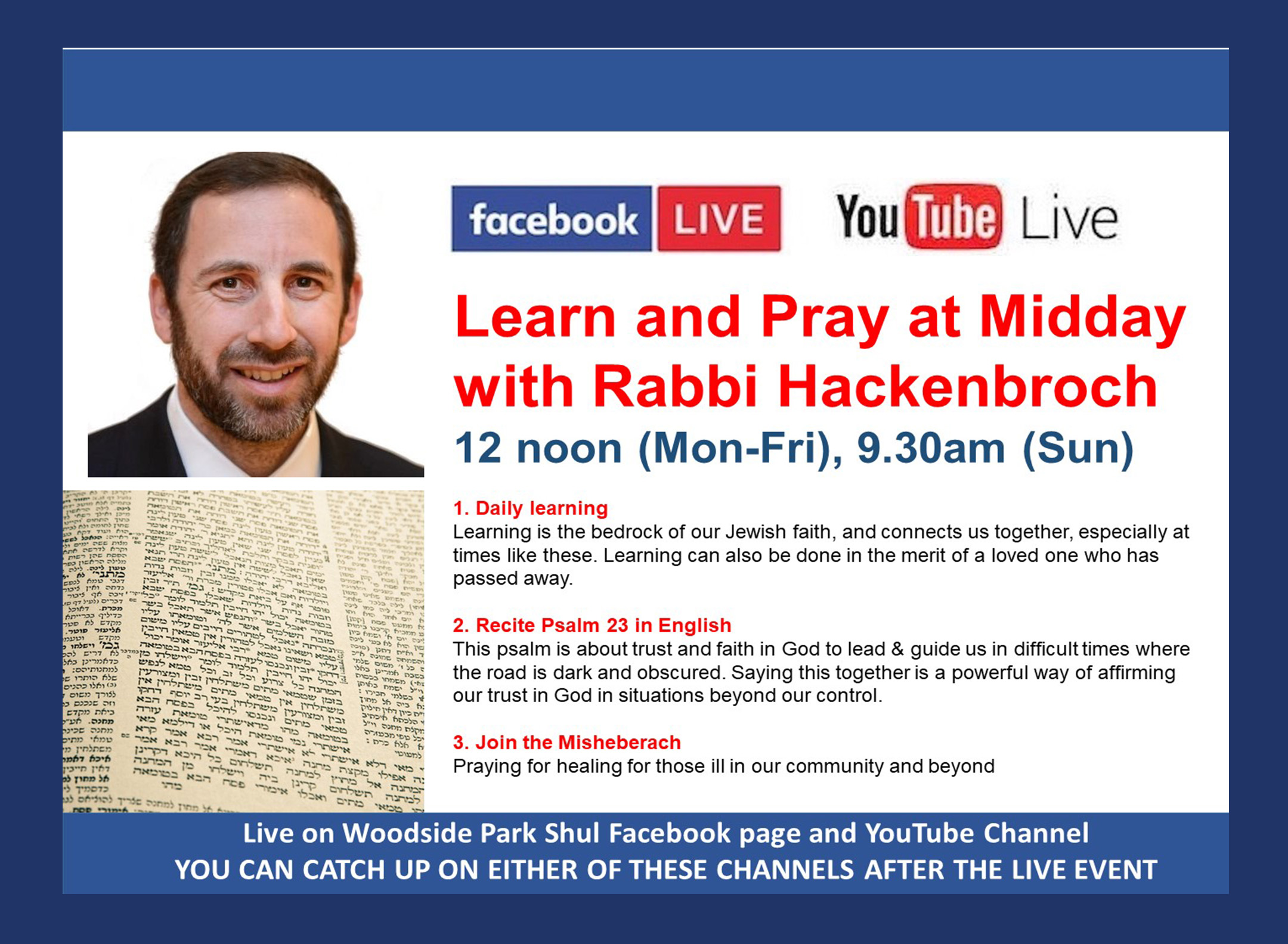 01 learn and pray at midday
