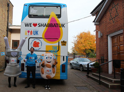 Shabbat Uk Yavneh visits Day Centre