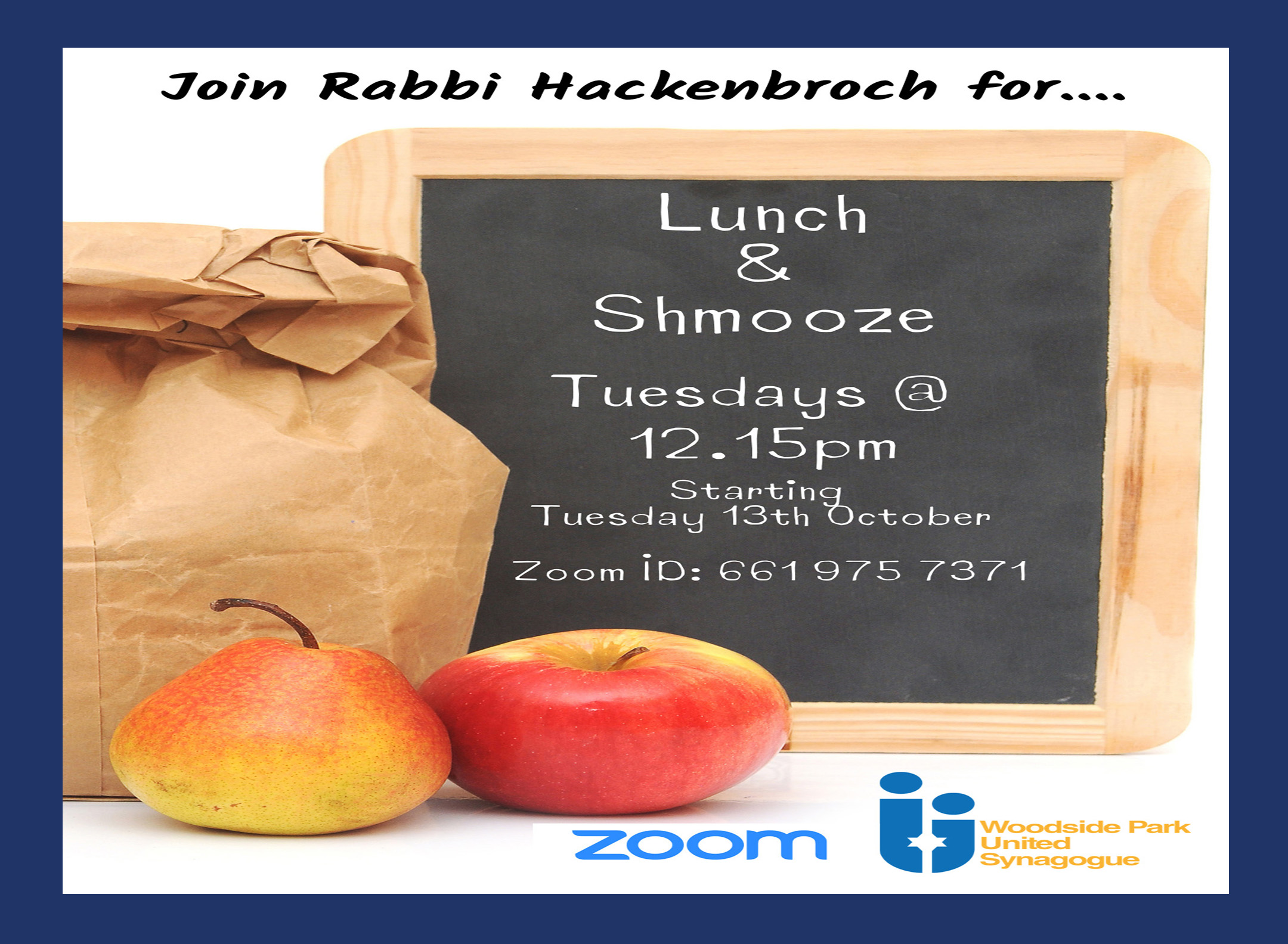 lunch and shmooze