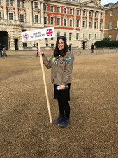 Scouts on Mitzvah Day 2019