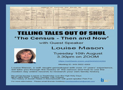 10 telling tales out of shul this week the census then and now