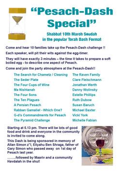 Pesach Dash Special A4