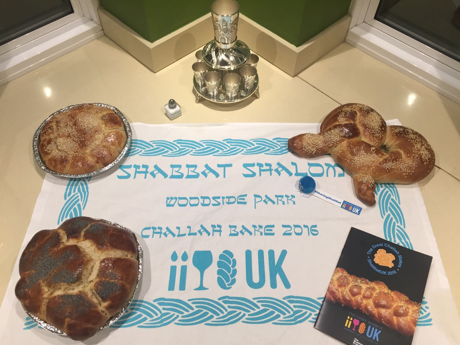 Shabbat UK 2016 Challah Bake