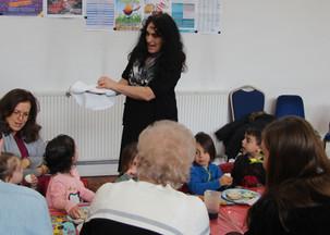 Yavneh Grandparents Mock Seder 2019