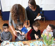 Yavneh Grandparents Mock Seder 2019_2462